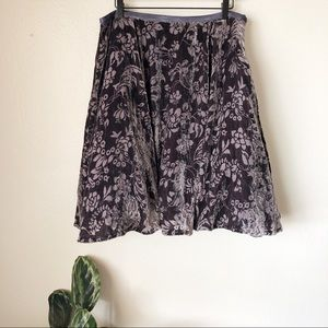 Anthropologie | Hickory Meadows Skirt